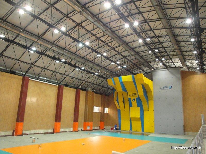ساختمان پیش ساخته - سوله ورزشی