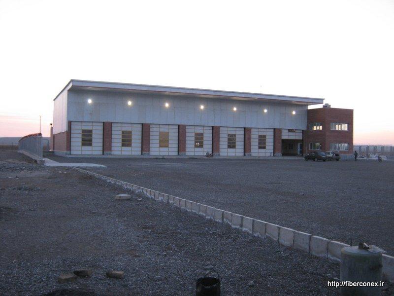 ساختمان پیش ساخته - فرودگاه
